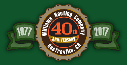 Williams Roofing Company - 40 year anniversary